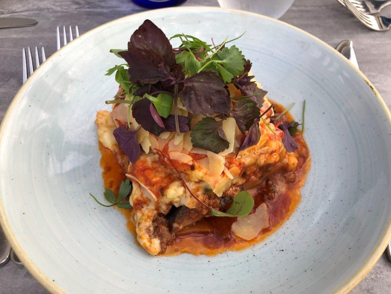 Eggplant dish 1: Moussaka