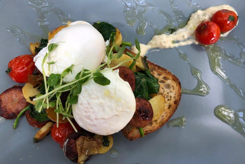 Eggplant dish 5: Breaky Bruschetta