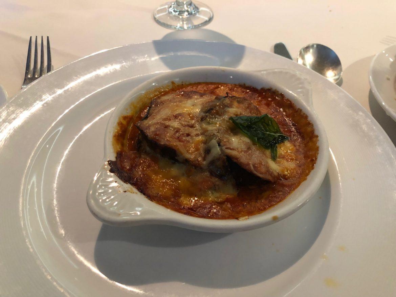 Eggplant dish 4: Eggplant parmigiana