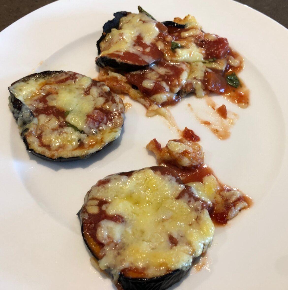 Eggplant dish 43: Eggplant pizza bites